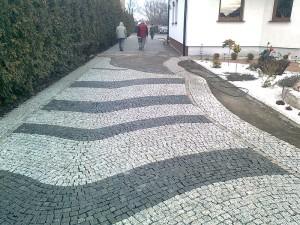 Ułożenie podjazdu z kostki granitowej Poznań